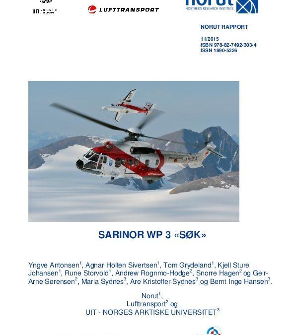 SARiNOR arbeidspakke 3: Søk